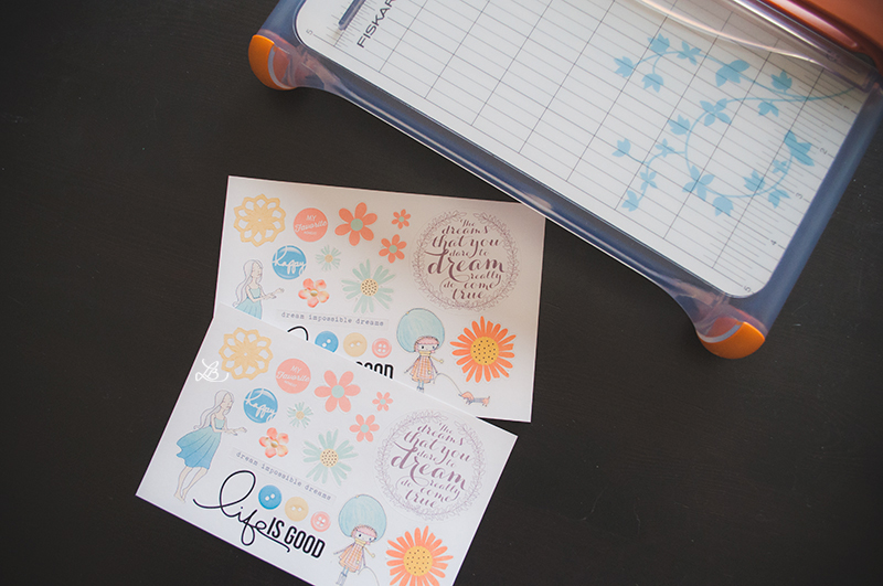 How To Make Sticker Sheets Using The Silhouette Photos