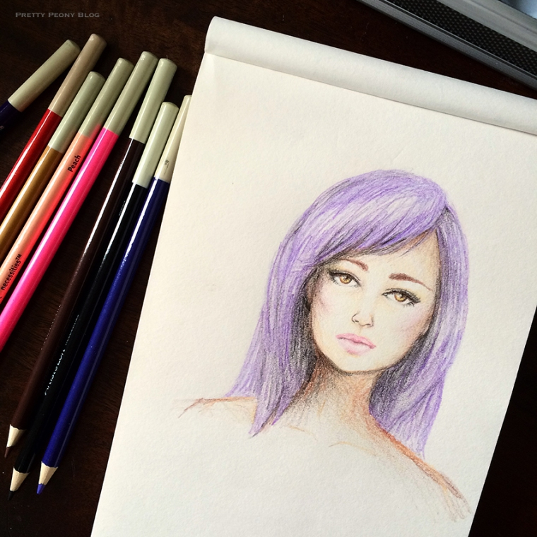 sketchgirlportraitpurple_850